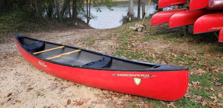 used canoe for sale - Old Town Discovery 158