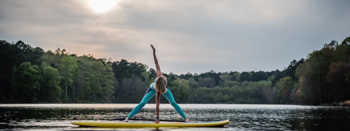 Paddleboard Yoga on Cape Fear River in Lillington, NC