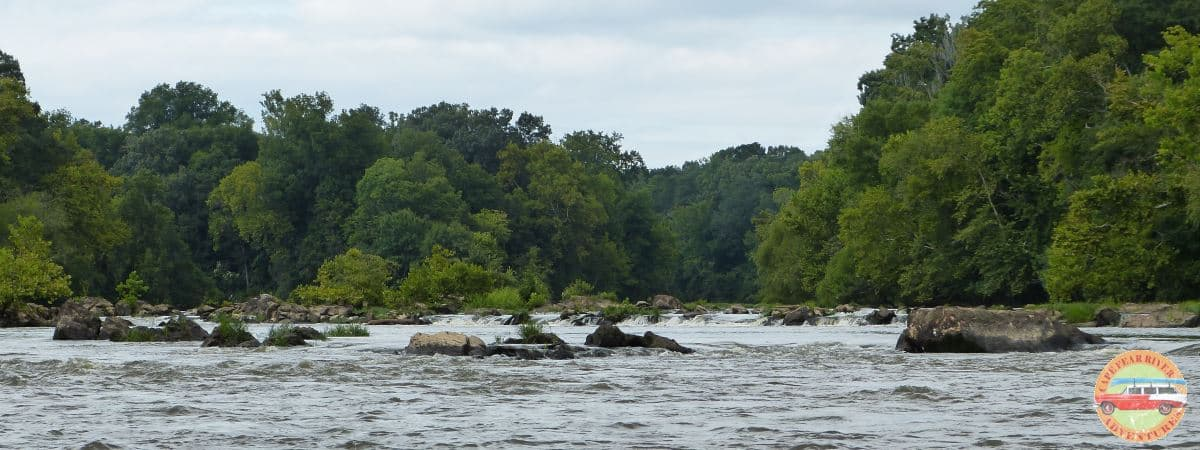 Cape Fear River Rapids